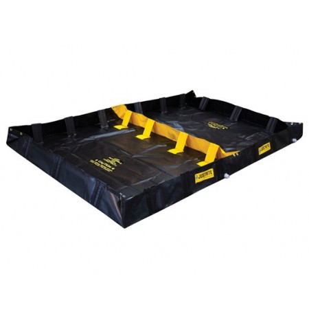 "DECON QUICKBERM®, 2-Zone, DIMS. 6'W x 10'L x 8""H, CAP. 299 GALS."