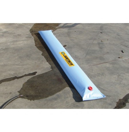 "WATER FILLED BOOM DIVERTER, DIMS. 10'L x 9""W"