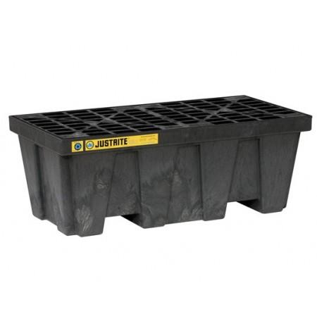 EcoPolyBlend™ Spill Control Pallet, 2 drum, recycled polyethylene