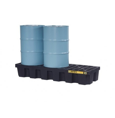 EcoPolyBlend™ Spill Control Pallet, 3 drum, recycled polyethylene