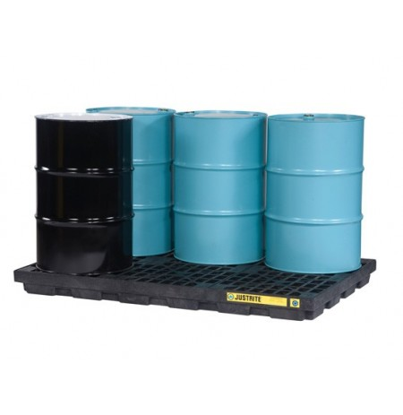 EcoPolyBlend™ Accumulation Center, 6 drum, recycled polyethylene