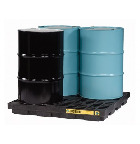 EcoPolyBlend™ Accumulation Center, 4 drum, recycled polyethylene