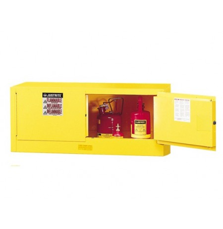 Sure-Grip® EX Piggyback Flammable Safety Cabinet, Cap. 12 gallons, 2 manual-close doors