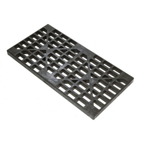 Drum Grate Replacement for 2-drum EcoPolyBlend™ Spill Pallets and Accumulation Centers, Black