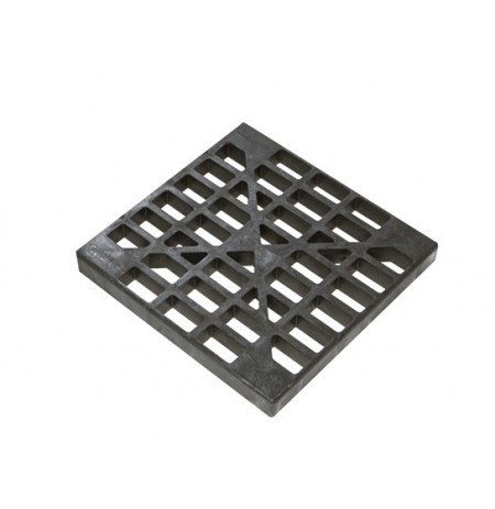 Drum Grate Replacement for 3-drum In-line Spill Pallet and 1-Drum Accumulation Center, Black.