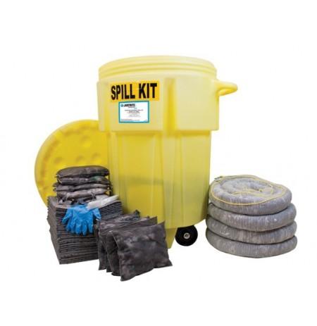 Wheeled 95 Gallon (360 Liter) Spill Kit - Universal