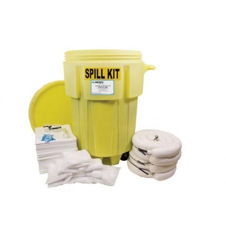 Wheeled 95 Gallon (360 Liter) Spill Kit - Oil Only