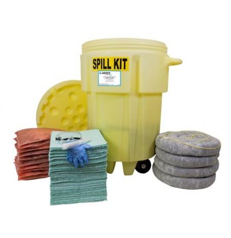 Wheeled 95 Gallon (360 Liter) Spill Kit - Hazmat