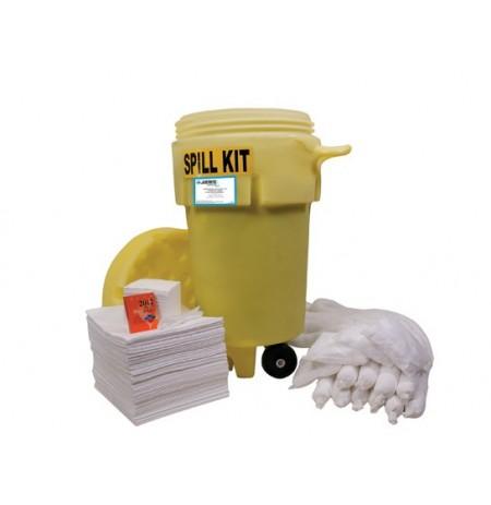 Wheeled 50 Gallon (189 Liter) Spill Kit - Oil Only