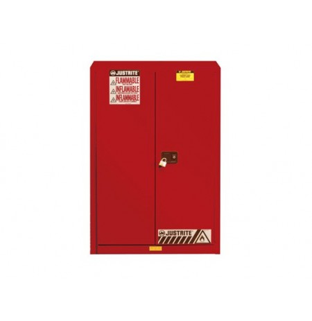Sure-Grip® EX Combustibles Safety Cabinet for paint and ink, Cap. 60 gal., 5 shelves, 2 s/c doors