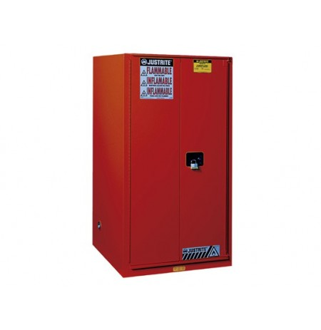 Sure-Grip® EX Combustibles Safety Cabinet for paint and ink, Cap. 96 gal., 5 shelves, 2 s/c doors