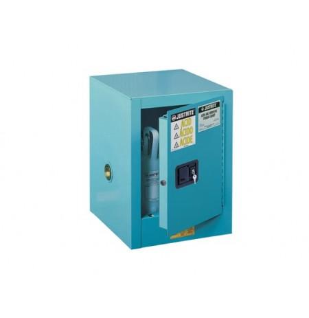 ChemCor® Countertop Corrosives/Acids Safety Cabinet, Cap. 4 gallons., 1 shelf, 1 m/c door