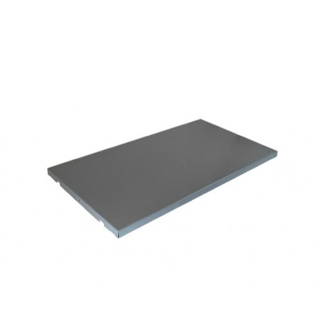 ChemCor® SpillSlope® Steel Shelf for 23-gallon Under Fume Hood safety cabinet.