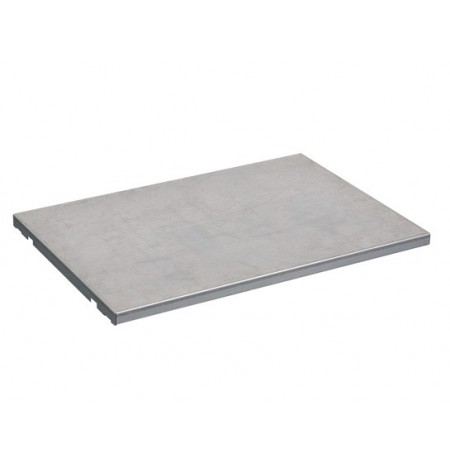 "SpillSlope® Steel Shelf for 23-gallon (36""W) Under Fume Hood safety cabinet."