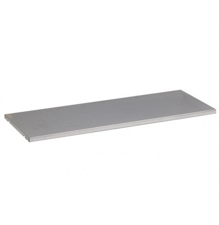 "SpillSlope® Steel Shelf for 31-gallon (48""W) Under Fume Hood safety cabinet."