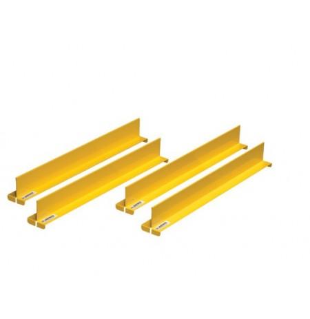 "Shelf Dividers fit shelf depth of 18"", set/4"