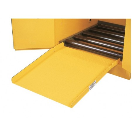 Drum Ramp for all safety drum cabinets.