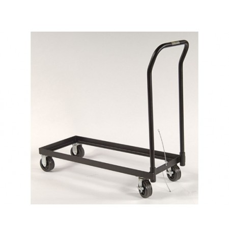 Rolling Cart for relocating cabinet, poly caster wheels, fits 30-gal. or Piggyback safety cabinets