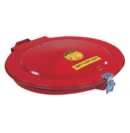 Drum Cover with Vent and Gasket for 55-gallon (200L) drum, manual-close, steel