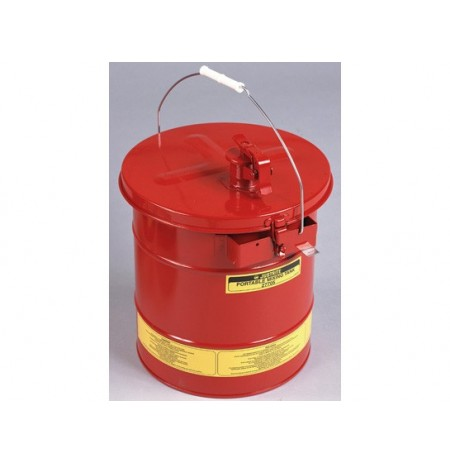 Portable Mixing Tank, 5 gal (19L), removable cover w/flame arrester, bonding tab, Steel