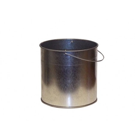 Smoker's Cease-Fire® Replacement Pail for personal-size cigarette butt recptcle, steel, bail handle