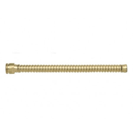 "Flexible Hose Extension for drum faucet No. 08902 or 08910, 8"" long, brass"