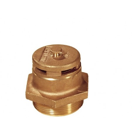 "Brass Vertical Vent for petroleum based applications, 2"" bung opening"