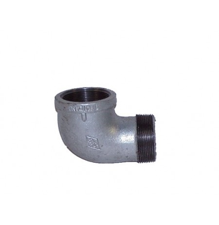 "Cast-iron EL Fitting for Mounting Drum Vent No. 08101 or 08005 in 2"" End Drum Opening"