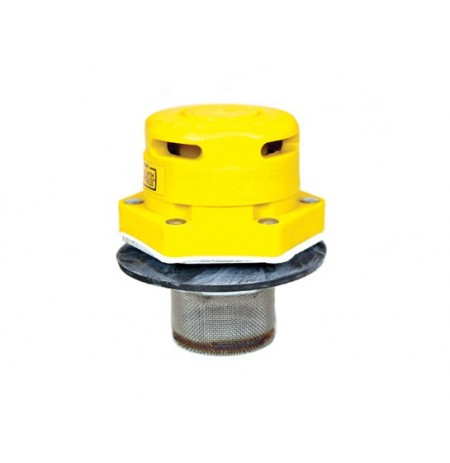 "Polyethylene Vertical Drum Vent for petroleum based applications, Flame Arrester, 2"" bung opening"