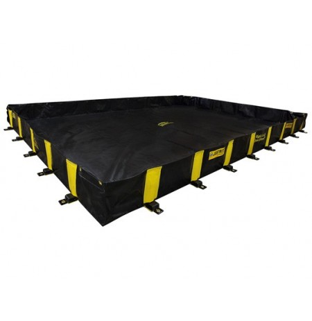 "RIGID-LOCK QUICKBERM® PLUS, DIMS. 10'W x 15'L x 12"", CAP. 1120 GALS."