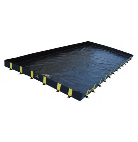 "RIGID-LOCK QUICKBERM® PLUS, DIMS. 12'W x 54'L x 12"", CAP. 4840 GALS."